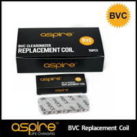 Cheap DHL Original BVC Coil 1.6 1.8 2.1ohm for Aspire BDC Atomizer Bottom Vertical Dual Coils For BDC Atomizer CE5 ET Vivi Nova Atomizer 002509