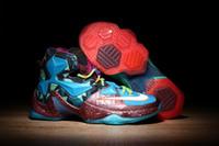 Cheap 2016 Mens nike lebron 13 XIII basketball shoes for sale Discount nike lebrons basketball shoes Cheap lebron Sneakers Free Shipping