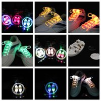Wholesale 2016 Hot Factory directly sale Fashion Latest model LED Flashing shoelace light up shoe laces Laser Shoelaces DHL