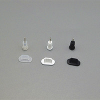 Wholesale for Iphone5 Silicone Dust Proof Plug Dock Cover Earphone Jack Cap for iPhone G
