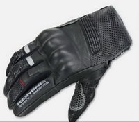 Leather Fingers Separated Women KOMINE GK-141 SAFETY INNOVATION Riding Gear Collection breathable leather motorbike gloves Spring Summer Knight Rider motorcycle gloves