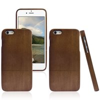 Wholesale 5 Mobile Phone Case Wooden Shell Rosewood Color Cherry Color Walnut Color For Iphone Plus