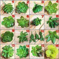 Wholesale Simulation Of Artificial Potted Plants Succulents Mini Decorative Artificial Flowers For Novelty Home Decor