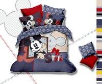 Cheap Free shipping brand Cute Cartoon bedding set queen size 4pcs Kids comforter duvet cover bed sheet set 100 cotton