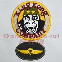 Wholesale King Kong Company armband movie taxi driver Taxi Driver diamond Badge