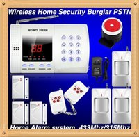 auto safety house - 99 Zones Alarm Systems Security Wireless smart home alarm House Burglar Safety PSTN Landline Auto Voice Dialer Easy DIY