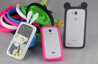 Wholesale Universal Silicone Luminous Bumper Frame Mickey Rabbit Crown Soft Case Multi Purpose Rubber Bracelet for iPhone s Samsung s6 HTC Camera
