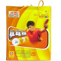 Wholesale 100x Double Fish mm Star Star Star Training Table Tennis Balls