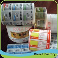 aluminium foil labels - Customized aluminium foil paper barcode label