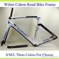 bike frame - Wilier New Arrive Carbon Bike Frame Full Carbon Fibre K Weave Road Cycling Bicycle Frame Black Red Three Style Glossy BB386 Bike Frame