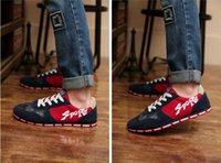 Wholesale hot selling England men s casual men s skateboard shoes breathable canvas men shoes NA5016X