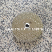 Wholesale Electroplated Diamond Vanity Blade quot mm Pyramid Design Double Sided with quot Flange for Cutting Marble or Limestone