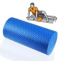 Wholesale High Quality EVA Physio Yoga Foam Roller Pilates Exercise Massage Gym Fitness Trigger For Men Women Blue Size x15cm