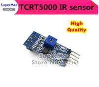 Wholesale High Quality Line Track Sensor TCRT5000 Infrared Reflective IR Photoelectric Switch Barrier order lt no track