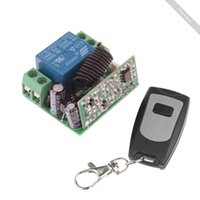 Wholesale 12V Channel Wireless Remote Power Relay Module with Remote Controller lovely