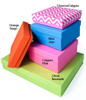 best packing box manufacturers - 1 set Sample BEST EVER Eco Brite Collection Jewelry Boxes Color Block Nested Boxes Christmas Gift Packing China Manufacturer styles