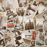 architectural gifts - Freeshipping set NEW Vintage architectural landscape travel card set Postcard set Greeting Card Gift Card dandys