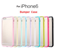 tpu gel case - For Iphone Case Iphone Plus Mat PC TPU Soft Clear Transparent Gel Cover Cases For iphone S S Galaxy S6 S5 S4 Not Bumper Case