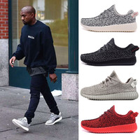 Wholesale Moonrock Running Shoes milan Kanye West Sneakers for Men and Women Fashion Footwear Kanye Boost Boots
