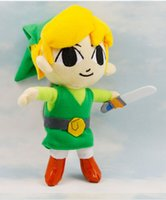 Wholesale High quality quot inch cm The Legend of Zelda Link Plush Stuffed Toy Doll