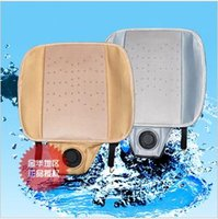 aeration blowers - 2014 Car Styling Real Sale Car Seat Cover v Cushion Air Conditioning Viscose Massage Blower Summer Cool Refreshing Aeration