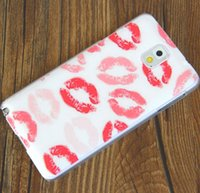 Cheap New Coloured drawing Back Hard case Cover for samsung galaxy Note 3 III N9000 case Cover Free Shipping