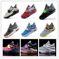 Cheap 2015 New Hot sale 23 cheap KD VII shoes kd 7 basketball shoes for mens basketball shoes durant basketball shoes US 7-12 Free Shipping