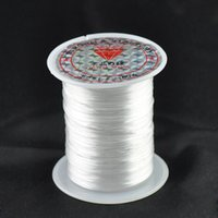 Wholesale Factory direct mm white crystal elastic line m DIY jewelry Required Materials