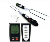 bbq thermometer fork - Programmed Digital BBQ Meat Fork Thermometer Beef Chicken Turkey Pork Fish Meat Thermometer Fork LCD Screen Inch Long