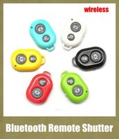 Wholesale remote shutter for iphone samsung s4 s5 note universal cellphone camera wireless self timer for monopod handle freeshipping OTH011
