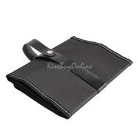 Wholesale Canvas Wrap Roll up Pen Case Pencil Bag Holder Storage Pouch for Pens ST1