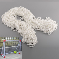 Wholesale 4x5FT Football Soccer Goal Post Nets For Training Practice Match Useful White Safety mx1 m