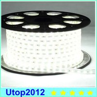 Wholesale 2015 Promotion M AC V SMD Flexible LED Strip Light LEDs Meter Waterproof IP65 Plug by Utop2012