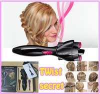 Cheap TW1000E Twist Secret BABYLISS Multi-Style Multistyle Hair Curling Irons quick twist Hairstyling Hairstyle Tool Easy to Twist DIY Your Hair