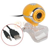 Wholesale 50 M HD Webcam Camera USB Clip Web Cam with Microphone for Desktop PC Laptop Computer Peripherals Networking Accessories