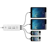 Wholesale Fee Shipping Original ORICO IPC A4U power strip Fast charging USB Extension Socket Plug with Socket Standard Socket material