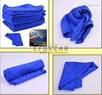 Wholesale 50X Microfiber Towel Car Cleaning Wash Clean Cloth car clean towel Car Care Hot