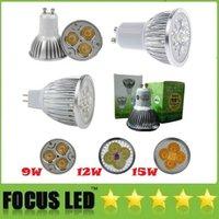 Wholesale DHL CE ROHS UL CSA SAA CREE W W W Led Bulbs Lights GU10 E2 MR16 GU5 Led Spotlights Warm Natrual Cool White V