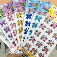 Wholesale China scrapbook supplies crafts accessories scrapbooking embellishments self adhesive acrylic gems butterfly shape sticker butterfly gems