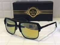 new model sunglasses - HOT Dita sunglasses new model DITA mach four Semi metal frame and K gold shinyplate collocation titanium summer style