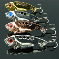 crappie jigs - Fishing Lure Blade Lure VIB Hard Bait Fresh Water Shallow Water Bass Walleye Crappie Minnow Fishing Tackle BL3L