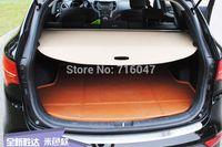 Wholesale High Quality Hyundai Santa Fe IX45 Rear Trunk Security Shield Cargo Cover Beige Color