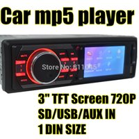 Cheap 3'' inch TFT HD screen car mp5 radio player USB SD aux in radio tuner with remote control,1 din car audio stereo mp5, Car player