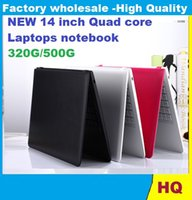 Wholesale 14 inch Duar core laptop GB GB Win win Itel Celeron N3050 GHZ N3150 Notebook Computer PC ultrabook X64 laptops DHL REEE