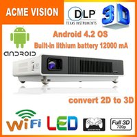 Wholesale Full HD DLP Mini Led D Projector Lumens Digital Video projector Projektor D Proyector High Brightness Project quot screen