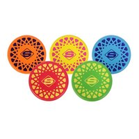 Wholesale Mesuca Sport Super k Colors Soft PU Frisbee SJX46185 for Children Color Papers Package Support for Mixed