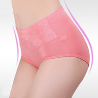 boyshorts - High Waist sexy brief panties XXL seamless briefs cotton boyshorts plus size underwear for women panty hot pants ladies floral panties