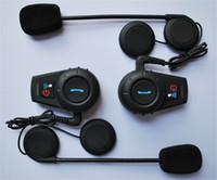 Wholesale Rider to Rider Intercom Up to M Motorcycle intercom headset bluetooth helmet headset