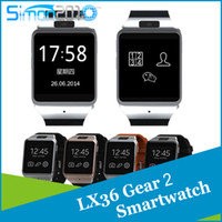Wholesale LX36 Gear Smart Watch Neo R380 Smartphone Partner GB memory Bluetooth Camera Touchscreen Wristwatch For Galaxy S5 S4 Note4