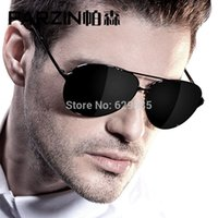 Wholesale Handsome male sunglasses large polarized sunglasses driving mirror sunglasses